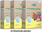 3 stuks Viano wateroplosbare meststof voor groene kamerplanten 52x5gr