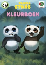 Panda Stars Kleurboek