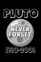 Notebook: Calendar / Planner 2020 Pluto Planet Astronomy Sarcasm Funny Gift 120 Pages, 6X9 Inches, Yearly, Monthly, Weekly & Dai