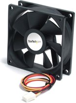 StarTech.com High Air Flow 9.25 cm Dual Ball Bearing Case Fan with TX3 Connector - Case Fan