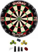 Winmau Blade 5 Bristle - Dartbord - Met - cadeauset
