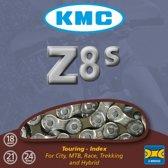 KMC Z8S - Fietsketting - 6/7/8 Speed - 116 Schakels - Zilver
