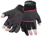 7industries timmermanshandschoen met 3 openvingers per paar - 208650000