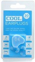 Cool Earplugs gehoorbescherming Blauw  festival 25 DB