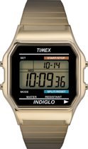 Timex Men Digital Goudkleurig - Polshorloge - Digitale Tijdsaanduiding