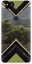Pixel 2 Hoesje Forest wood