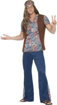 Orion the Hippie Costume Blue with Top Trousers Headscarf & Medallion