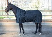 Harry's Horse Regendeken Thor 200 highneck 165cm Jet-black (zwart)