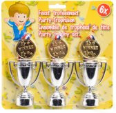 Party Trofee - 6 Stuks