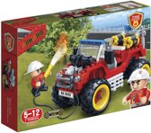BanBao Brandweer Brandweerjeep - 7106