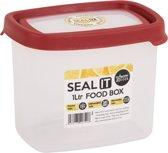 Wham Seal It Vershouddoos - Rechthoekig - 1 Liter - Set van 3 Stuks - Rood
