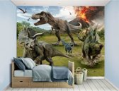 Jurassic World XXL behang - Fallen Kingdom - Dinosaurus - Walltastic – 305 x 244 cm