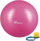 Yogabal Roze 65 cm, Trainingsbal, Pilates, gymbal