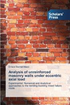 Analysis of Unreinforced Masonry Walls Under Eccentric Axial Load