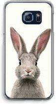 Samsung Galaxy S6 Edge Transparant Hoesje (Soft) - Daisy
