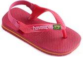 Havaianas Baby Brasil Logo Unisex Slippers - Tulip - Maat 22