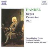 Handel: Organ Concertos Op 4 / Lindley, Creswick, et al