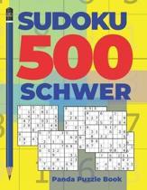Sudoku 500 Schwer: Denkspiele F�r erwachsene - Logikspiele F�r Erwachsene