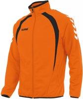 Hummel Team Top Full Zip - Jassen  - oranje - 116