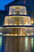 Awesome Fountain in Germany Travel Journal