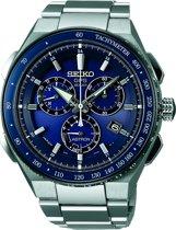 Seiko Astron SSE127J1 horloge heren - zilver - titanium