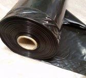 Zwarte buisfolie 50cm x 250mtr, 100my (016.0107)