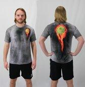 Bones Sportswear Heren T-shirt Fireball maat M