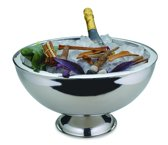 Bar Professional Como Wijnkoeler - Roestvrijstaal - Dubbel wandig - 43 cm - 1 stuk