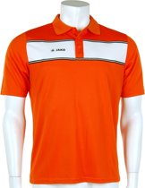 Jako Polo Player - Sportpolo -  Heren - Maat S - Orange;White