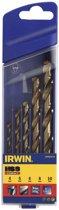 Irwin HSS Cobalt borenset 5-delig 4/5/6/8/10 mm 10502570