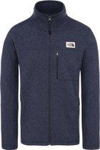 The North Face Gordon Lyons Full Zip Vest Heren - Urban Navy Heather - Maat L