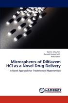Microspheres of Diltiazem Hcl as a Novel Drug Delivery