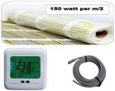 """cheap"""" elektrische vloerverwarming 8.0m2"""