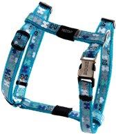 Rogz Lapz Trendy Tuigje Bones Blauw 8.9x25 cm