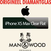 Man & Wood - iPhone XS Max - Clear Flat Diamantglas® Screen Protector