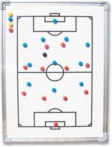 Coachbord - tactiekbord - 45x60 centimeter met draagtas