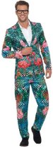 Hawaiian Tropical Flamingo Suit