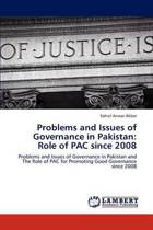 Problems and Issues of Governance in Pakistan