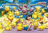 Pokemon XY Puzzle: Hoopa and Lots of Pikachu