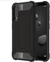 Armor Hybrid Samsung Galaxy A50 Hoesje - Zwart