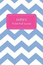 Lora's Pocket Posh Journal, Chevron