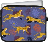 Tablet Sleeve Huawei MediaPad M6 8.4 Cheetah Pattern