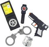 Police Set with Gun