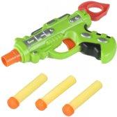 Eddy Toys Pistool Groen 16 Cm