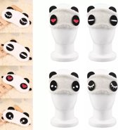 Slaapmasker Cute Panda ( Zacht en rustgevend)