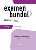 Omslag van 'Examenbundel vmbo-gt Nederlands 2016/2017'