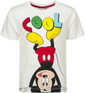 Mickey mouse t-shirt 104cm wit