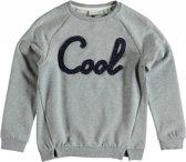 Name it grijze sweater Maat - 116