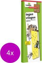 Luxan Vliegenstrip - Insectenbestrijding - 4 x 2 stuks