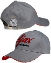 Ajax Cap - Senior - Logo - Grijs